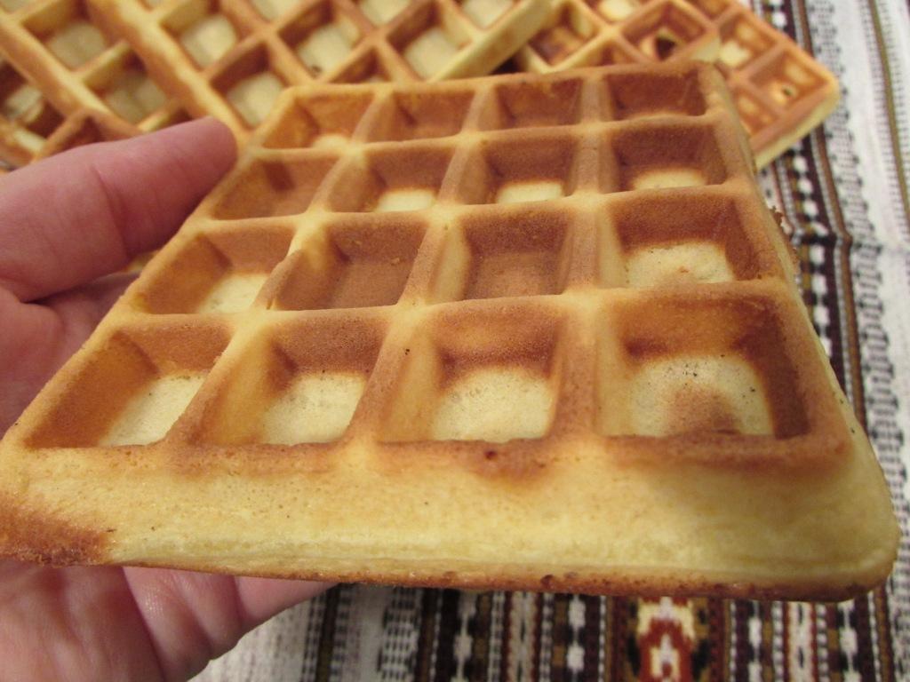 Рецепт венских вафель в электровафельнице