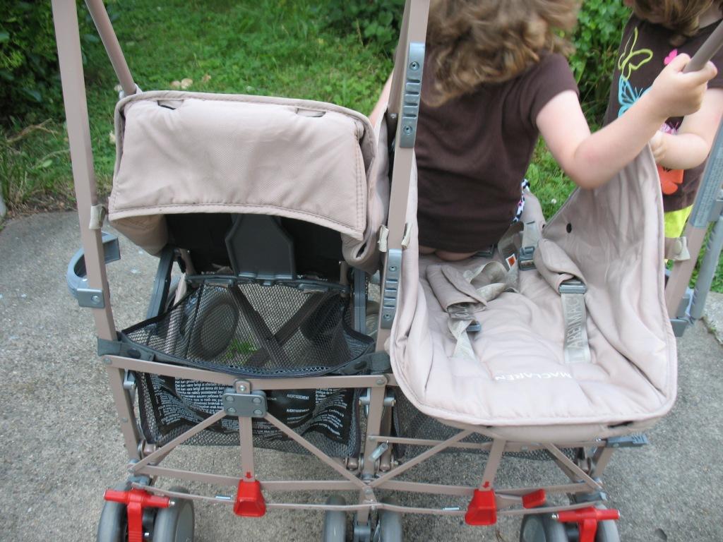 Купить коляску для двойни макларен
